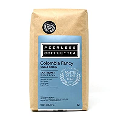 Peerless Coffee & Tea Whole Bean Coffee, Kraft 2 Pound