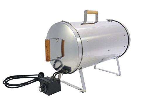 MUURIKKA - Tischräucherofen mit Thermostat - 1100 Watt - Ø 25 cm Durchmesser