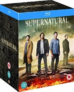 Supernatural: Seasons 1-12 Complete Series [Blu-ray] [Region-Free]