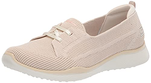 Skechers Microburst 2.0-Irresistible, Zapatillas Mujer, Natural, 39 EU