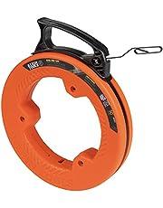 Klein Tools 56331 stalen band, 15,2 m x 0,3 cm, oranje/zwart