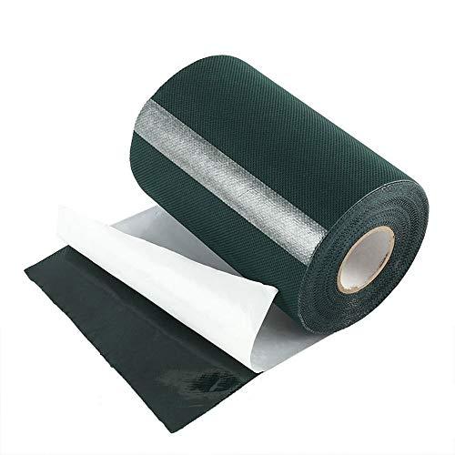 Anemoner Künstliches Rasenband, 10 m x 15 cm, selbstklebendes Fugenband für den Außenbereich, für die Befestigung von Kunstrasen-Teppichen