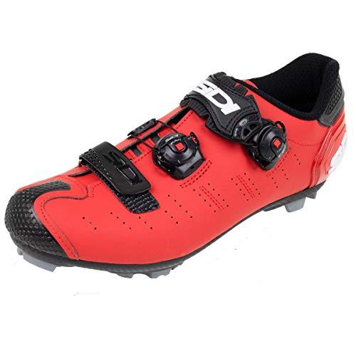 Sidi MTB Dragon 5 SRS Schuhe Herren matt red Schuhgröße EU 43 2021 Rad-Schuhe Radsport-Schuhe
