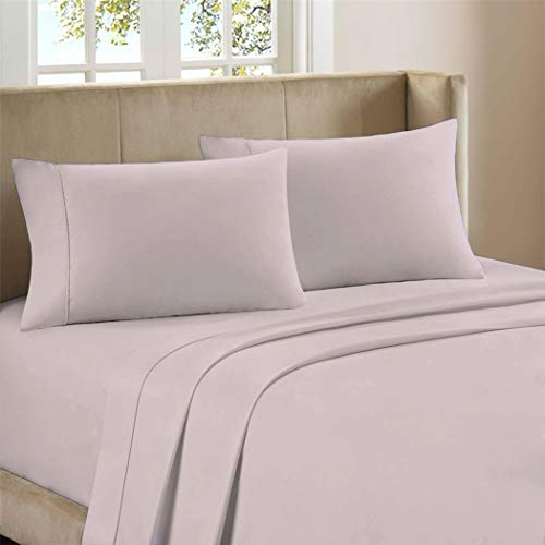 Purity Home 300 Thread Count 100% Combed Cotton 4 Piece Bed Sheet Set, King...