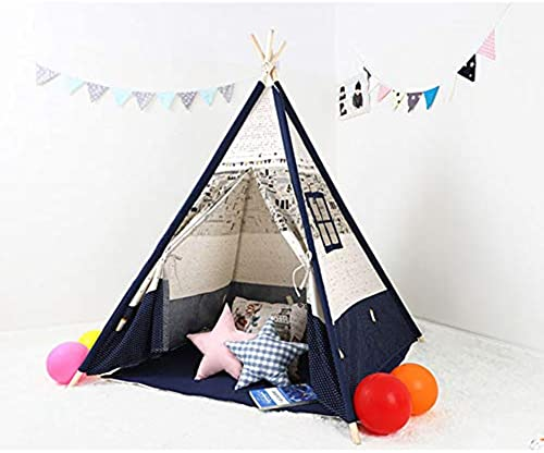 Kinder Zelt Spiel Indoor Zelt Home Toy Room Indische M er und Frauen Kinder Prinzessin Haus Leseecke Indoor und Outdoor (150cm  ),120x120x15cm