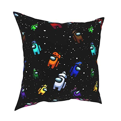 shenguang Multicode Pillowcases Among Us Premium Printing Home Decor Pillowcase, Covers Soft Luxury Breathable(Pillows Are Not Included)