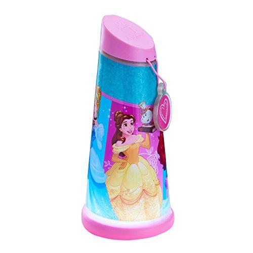 GoGlow Princesas Disney Luz de Noche y Linterna Giratoria,