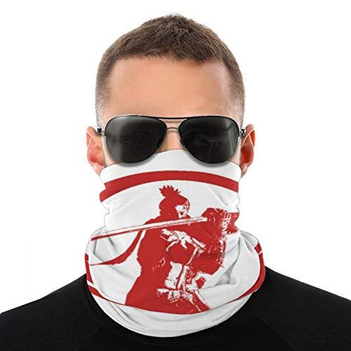 Sekiro Shadows Die Twice Shenobi Enso Blood Vielfalt Kopftuch Fahrrad Magic Headwear Neck Gaiter Face Bandana Schal