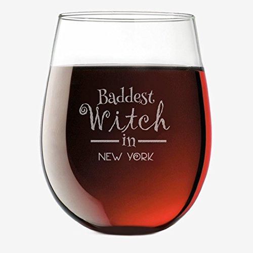 Weinglas, ohne Stiel, personalisierbar