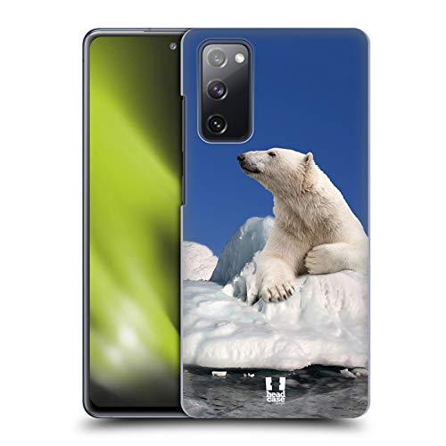 Head Case Designs Eisbär Auf EIS Tierwelt Harte Rueckseiten Handyhülle Hülle Huelle und Passende Designer Hintergrundbilder kompatibel mit Samsung Galaxy S20 FE / 5G