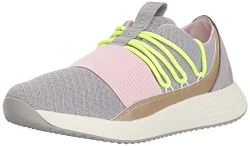 Under Armour Women's Breathe Lace Sneaker, Tin (102)/Ivory, 9
