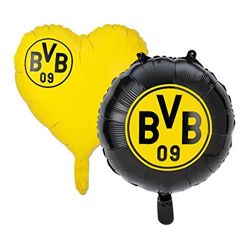 Borussia Dortmund BVB-Folienballons (2er Set) one Size