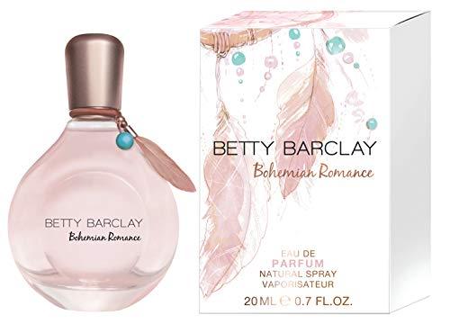 Betty Barclay® Bohemian Romance I Eau de Parfum - zart - floral - romantisch - ein Duft voller Lebendigkeit und Leichtigkeit I 20ml Natural Spray Vaporisateur