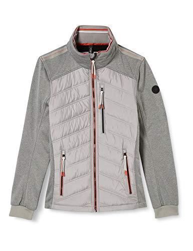 TOM TAILOR Herren Hybrid casual Jacke, 10944-Frost Ash, XL