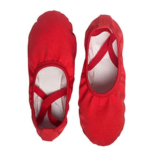 Zapatos De Baile Sin Cordones De Fondo Suave Resistentes Al Desgaste Zapatos De Ballet Suaves Y Transpirables De Moda Zapatos De Baile De Yoga Ligeros, Transpirables Y Que No Destiñen