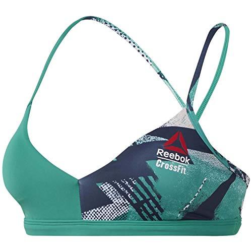 Reebok Rc Micro Bra Top Damen M Smaragd