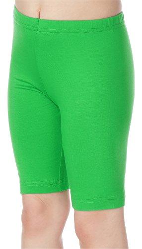 Merry Style Leggins Mallas Pantalones Cortos Ropa Deportiva Niña MS10-132 (Verde, 116 cm)