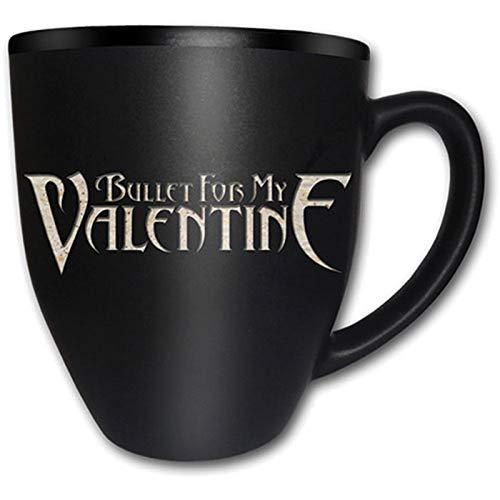 Bullet Voor Mijn Valentijn Band Logo Zwarte Thee Koffie Boxed Cadeaumok Officiële
