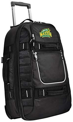 Find Bargain Small George Mason University Carry-On Bag Wheeled Suitcase Luggage Bags