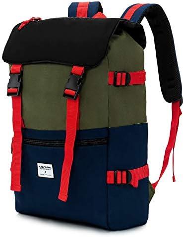 KINGSLONG Backpack for Women Men Campus Backpack Bookbag for Camping Travel Work product image