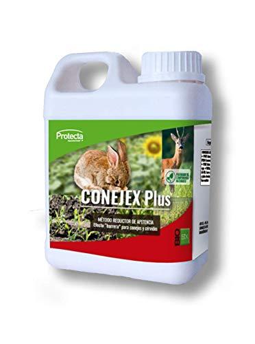 BIOSIX Conejex Plus Método Reductor Apetencia Efecto Barrera para Conejos y Cérvidos - 1 L