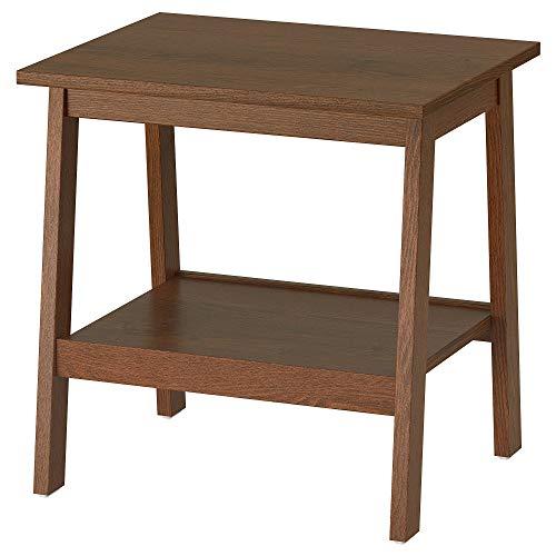 IKEA/イケアLUNNARP:サイドテーブル55x45cmブラウン(403.990.31)