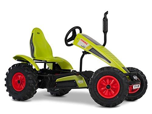 BERG Gokart mit XL-frame CLAAS   Kinderfahrzeug, Tretauto mit verstellbarer Sitz, Mit Freilauf, Kinderspielzeug geeignet für Kinder im Alter ab 5 Jahren