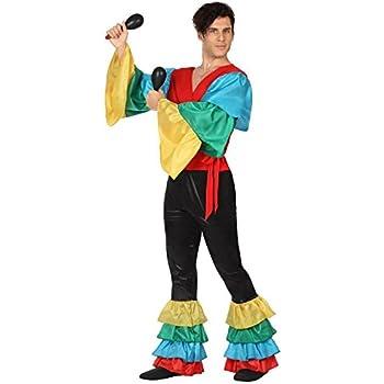 Creaciones Llopis Disfraz de Cubano Beige para Hombre: Amazon.es ...