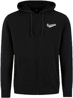 Converse Men's 10018229-A03_M Sweatshirts, Black, M