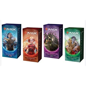 Magic the Gathering MTG 2020 Challenger Set of All 4 Decks