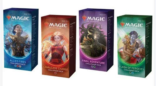 Magic the Gathering MTG 2020 Challenger Set of All 4 Decks