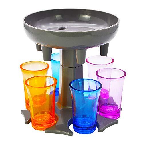 GreeSuit Dispensador de Vasos de chupito Juego de 6 dispensadores de Vasos...