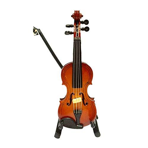 Puppen Violine Miniatur Simulation Violine Spielzeug Lodge Props Für Puppen Mini Musikinstrument