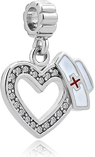 Reisjewelry RN nurse Graduation charm Bead per braccialetto