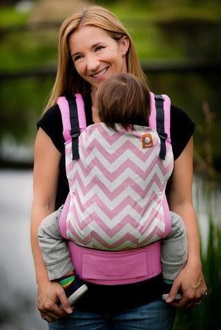 Tula Ergonomic Baby Carrier - Standard - Pink Zig Zag