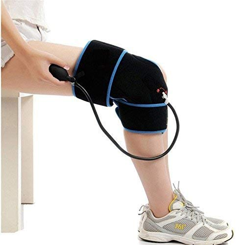 Cold Therapy Knee Wrap with Compression and Extra Ice Gel Pack - Essential Kit for Knee Pain Relief...