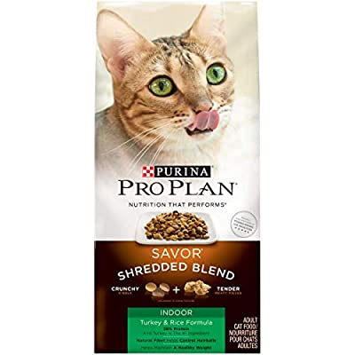 Purina Pro Plan Indoor - Dry Cat Food & Canned Wet Cat Food Bundle Package