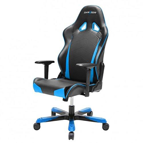 DXRacer Gaming Stuhl, OH/TS29/NB, T-Serie, schwarz-blau, das Original von DX Racer