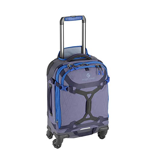 Eagle Creek Gear Warrior International Carry Luggage Softside 4-Wheel Rolling Suitcase, Arctic Blue, 21 Inch