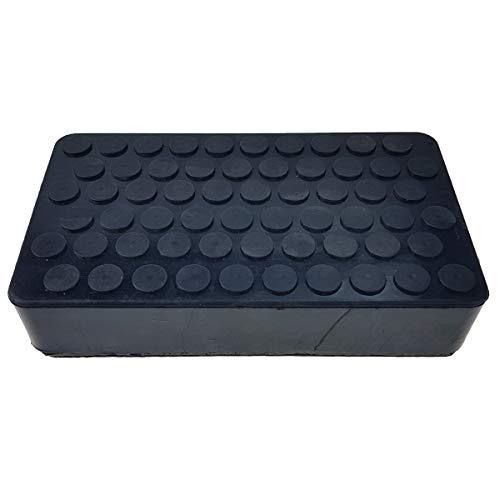 Stix Hebebühne 200x113x42mm Gummiauflage Gummiklotz Gummiblock Wagenheber Rubber Pad Adapter