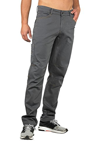 Chillaz Herren Elias Hose, Dark Grey, XL