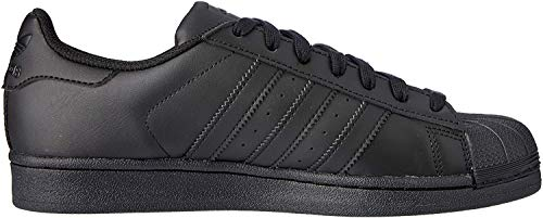 adidas Originals Superstar Foundation, Herren Sneakers, Schwarz (Core Black/Core Black/Core Black), 42 2/3 EU (8.5 Herren UK)