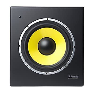"Pro Series RPM 10S active Studio Subwoofer 10"" by Fame Audio"