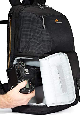 Lowepro Fastpack BP 250 AW II - A Travel-Ready Backpack for DSLR and 15