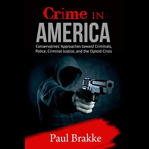 Crime in America audiobook cover art