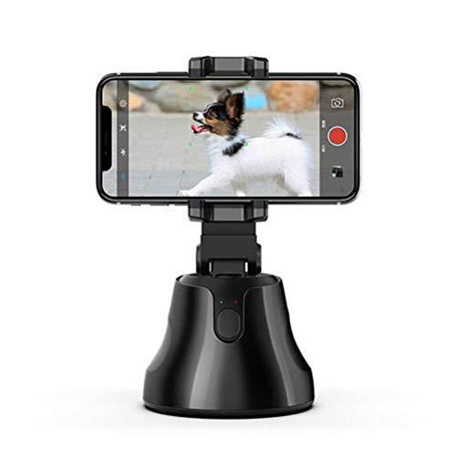 Mlamat - Soporte de teléfono móvil Gimbal 360º para fotos de cara y de seguimiento para grabación de vídeo en vivo