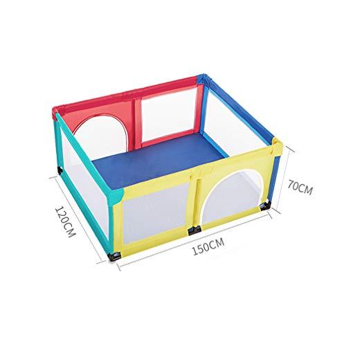 LY-JFSZ Parcs pour Bébés, Parc D'intérieur pour La Maison Clôture pour Tapis De Bébé Jeu De Boules Océaniques pour Enfants (120 × 150 × 70 Cm) Colorful