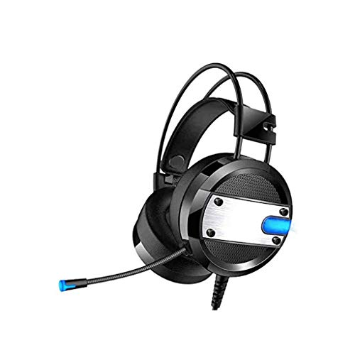 GFDFD Stereo Gaming Headset for PS4, PC, Xbox EIN Controller Noise-Cancelling Over Ear-Kopfhörer mit Mikrofon, Bass Surround, Soft-Speicher Earmuffs