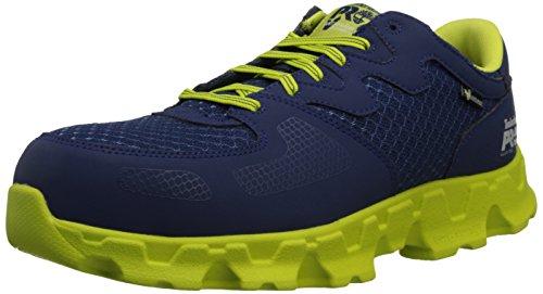 Timberland PRO Men's Powertrain Alloy Toe EH Industrial Shoe,Navy/High...