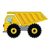PatchMommy Camion Parche Termoadhesivo Vehículo de Construcción Parche Bordado para Ropa - Parches Infantiles y Apliques para Niños